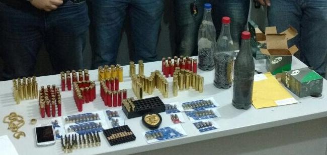 Polícia de Zé Doca prende dois homens com muita munição