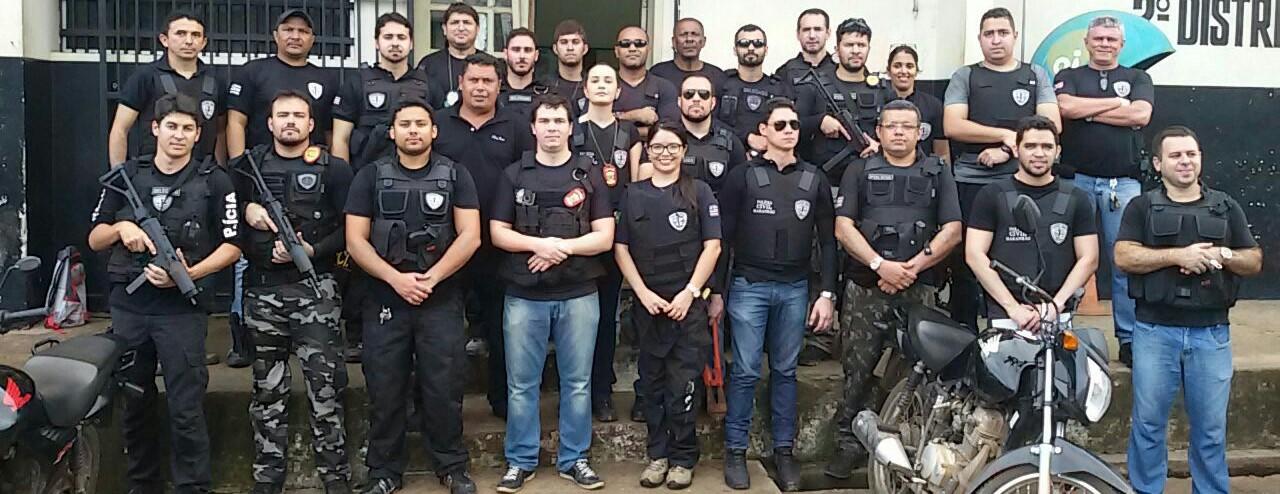 Polícia Civil do Maranhão prende traficantes em Bacabal