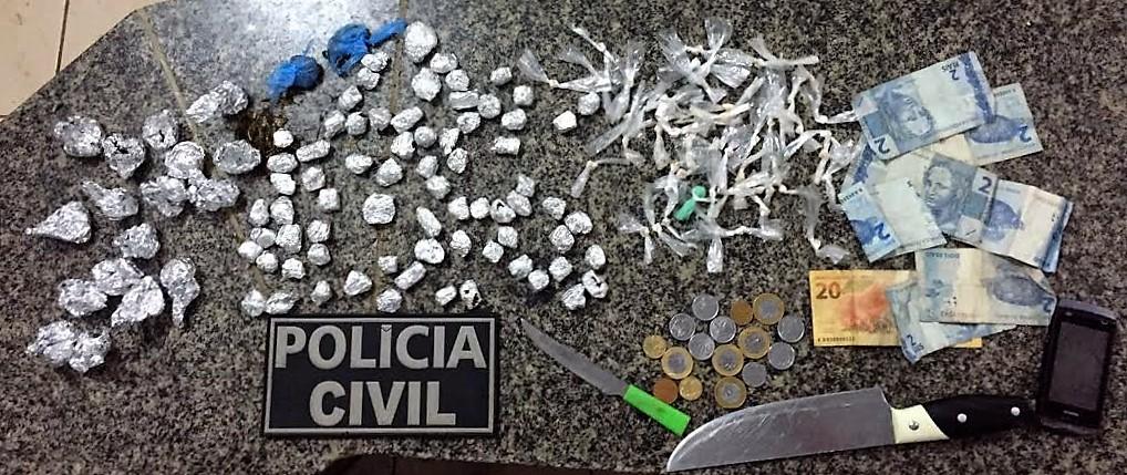 Polícia Civil de Cururupu tira de circulação seis suspeitos de tráfico de drogas