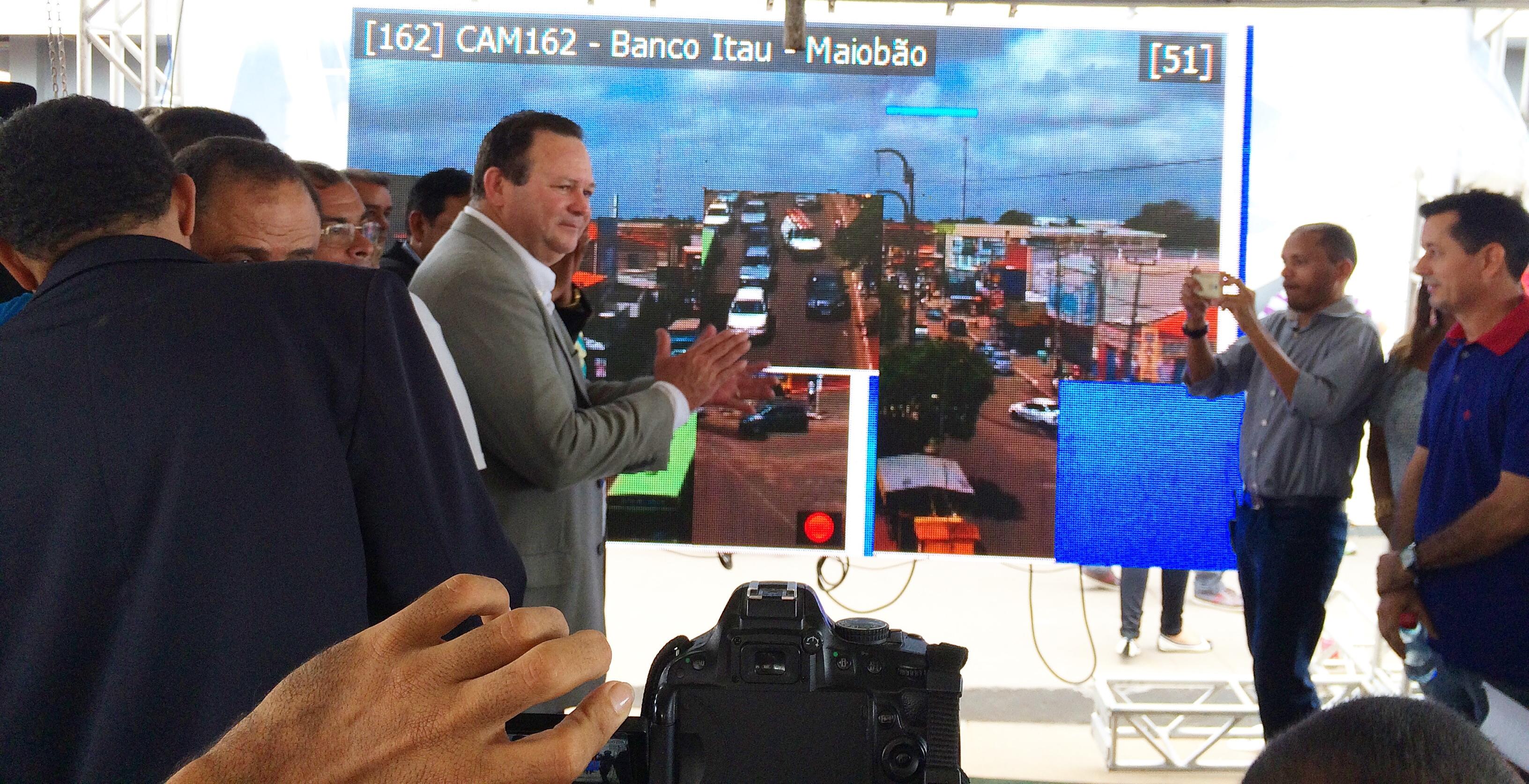 SPP inaugura Câmeras de Vigilância em Paço do Lumiar