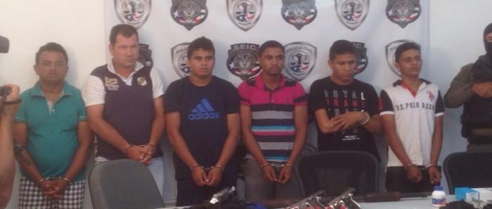 Polícia Civil prende suspeitos de roubar banco em Igarapé Grande