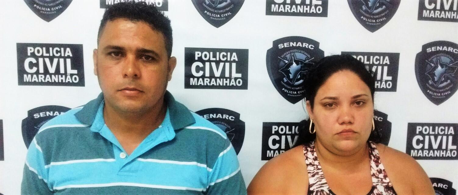 Polícia Civil prende casal suspeito por tráfico de drogas no Pirapora