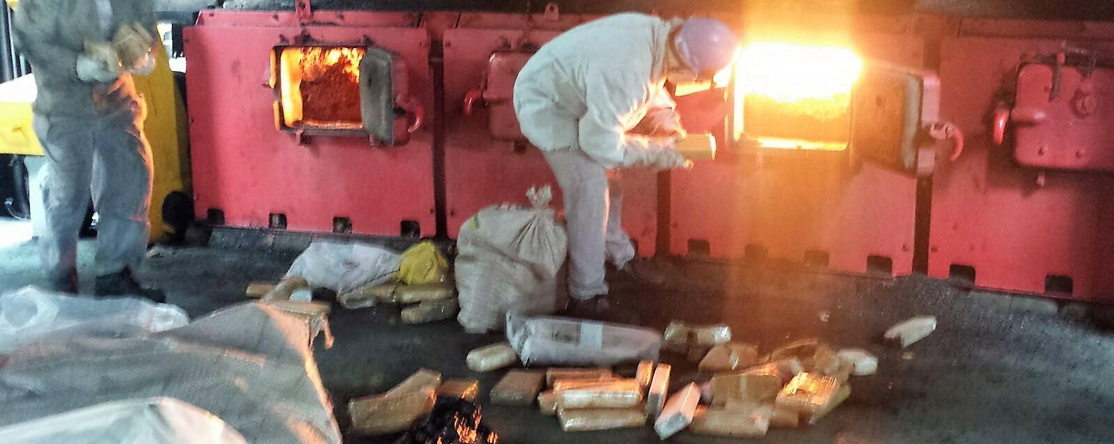 Polícia Civil destrói 707 kg de drogas apreendidas no Maranhão