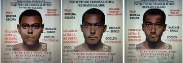 SPCC divulga retrato de suspeito de raptar menina de 9 anos no Cohatrac