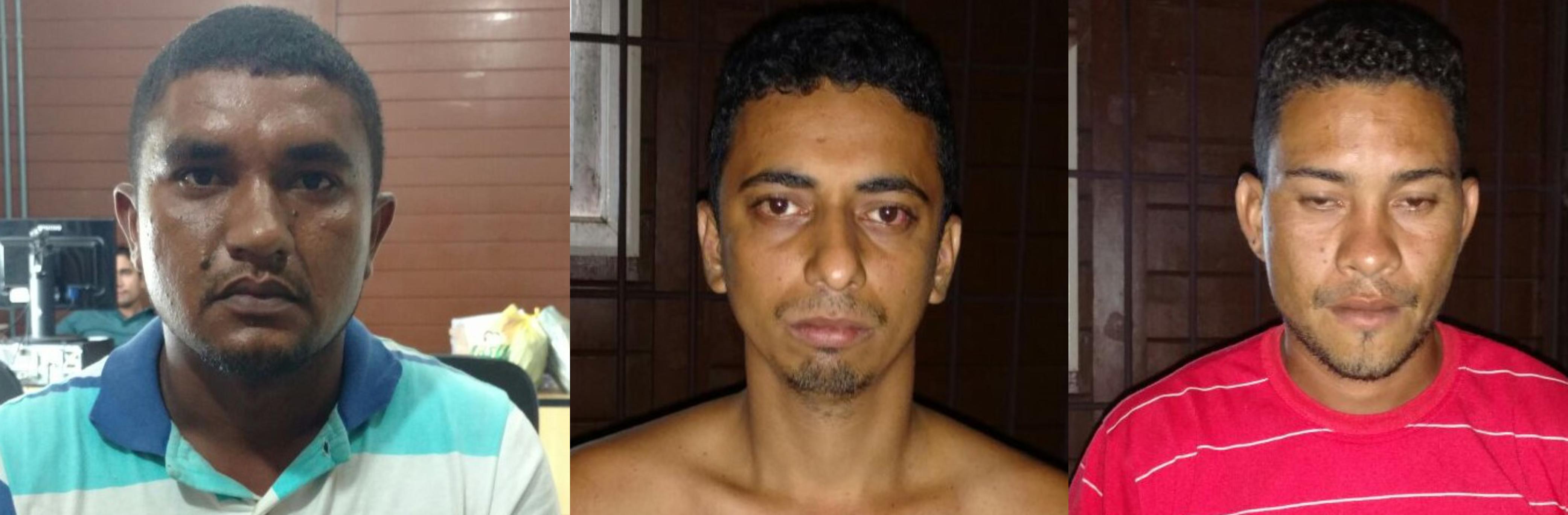 Três suspeitos por tráfico de drogas são presos em Imperatriz pela Polícia Civil