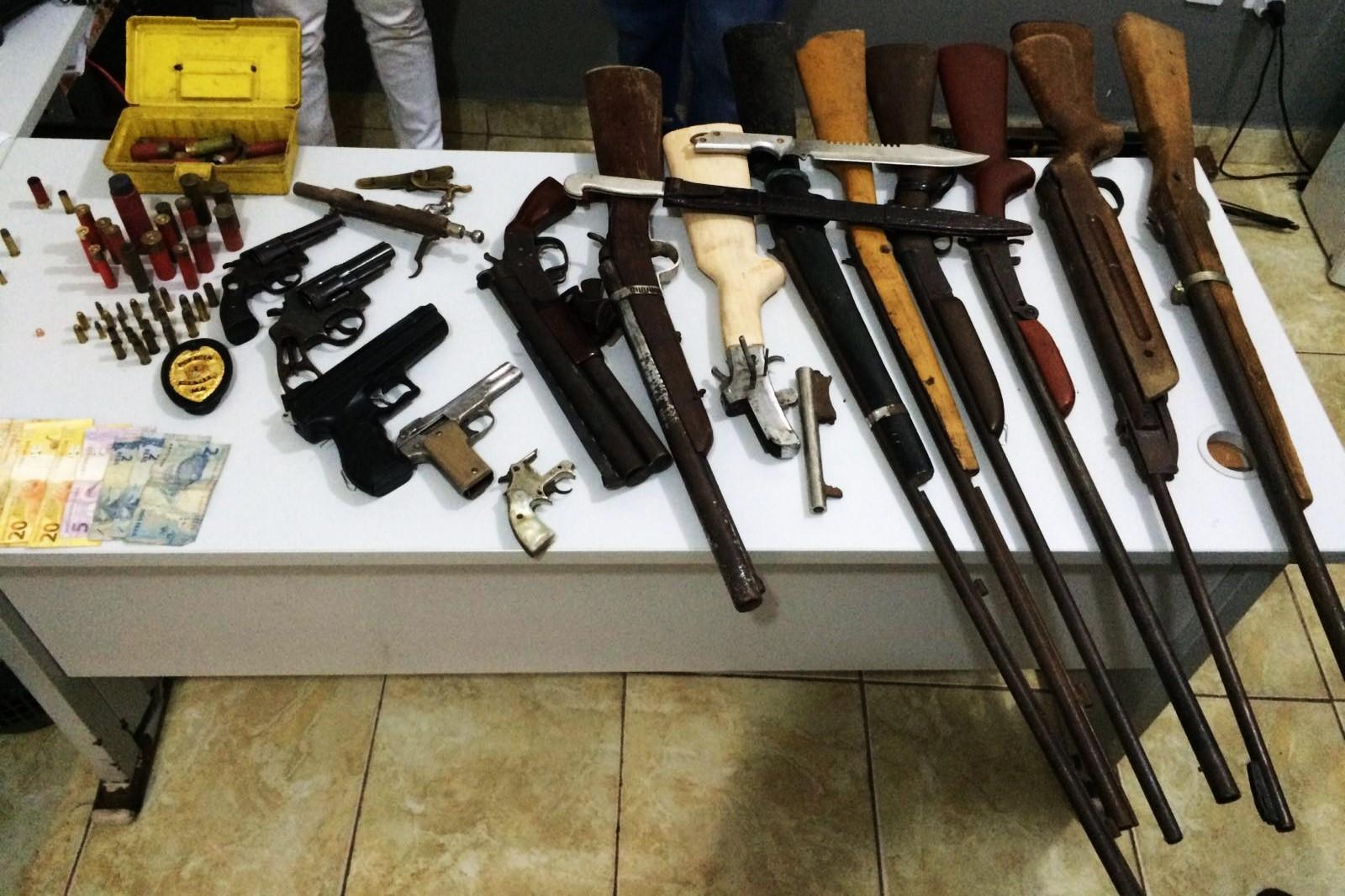 Polícia Civil prende suspeito por porte e comercialização de arma de fogo em Zé Doca