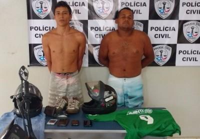 Polícia prende suspeitos de assalto a loja de eletrônicos em Estreito
