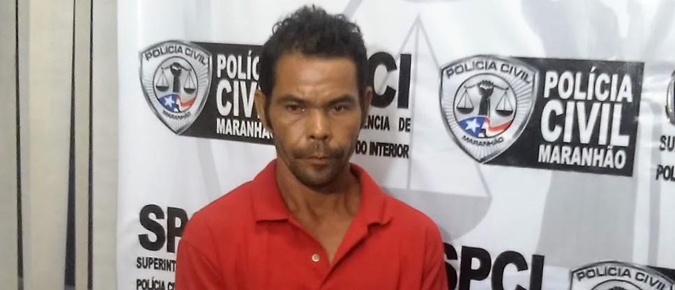 Polícia Civil prende em Rosário homem acusado de estuprar a filha de dez anos