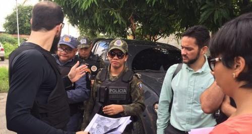 Policia Civil realiza operação de reintegração de posse de terra na capital