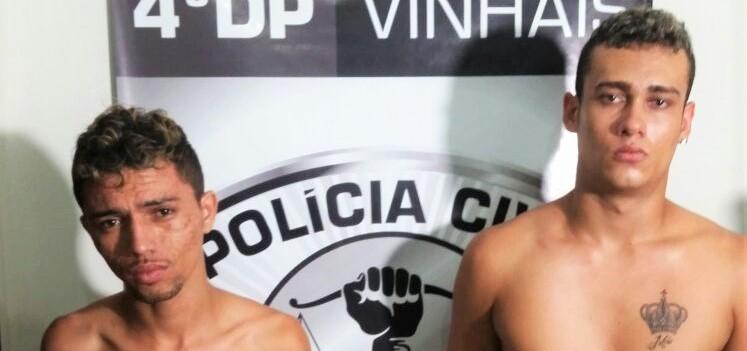 Dois homens são presos por suspeita de assaltos no Vinhais