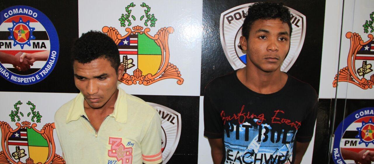 SSP apresenta irmãos suspeitos de arrombamentos a caixas eletrônicos