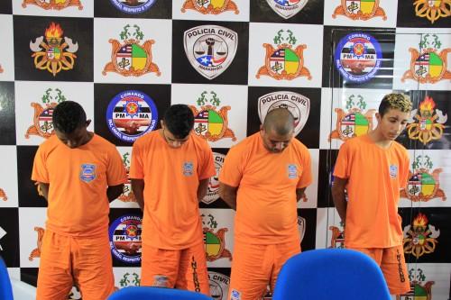SSP apresenta quatro suspeitos de envolvimentos com o tráfico de drogas em Guimarães