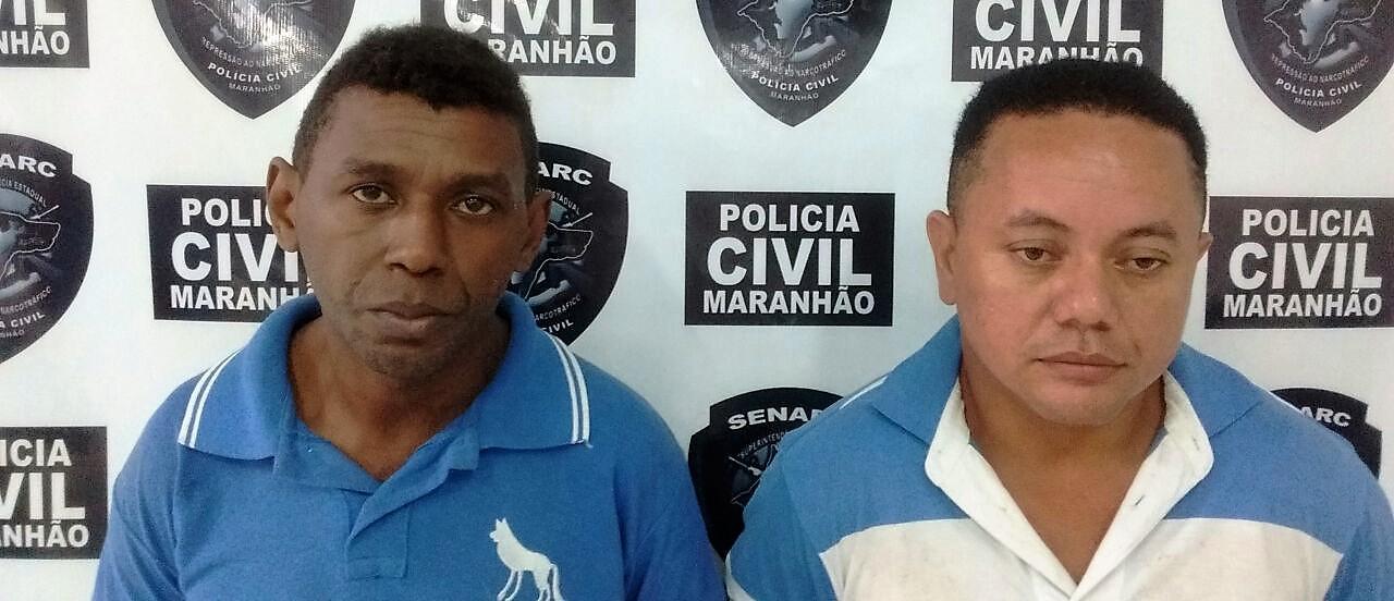 Policia Civil do Maranhão prende dupla com 5kg de drogas e arma no Cohatrac IV