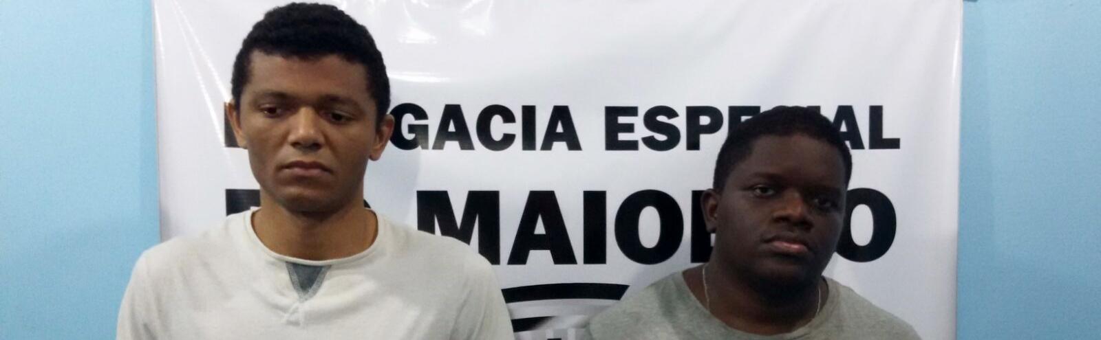 Polícia Civil prende suspeitos de crimes sexuais no Maiobão
