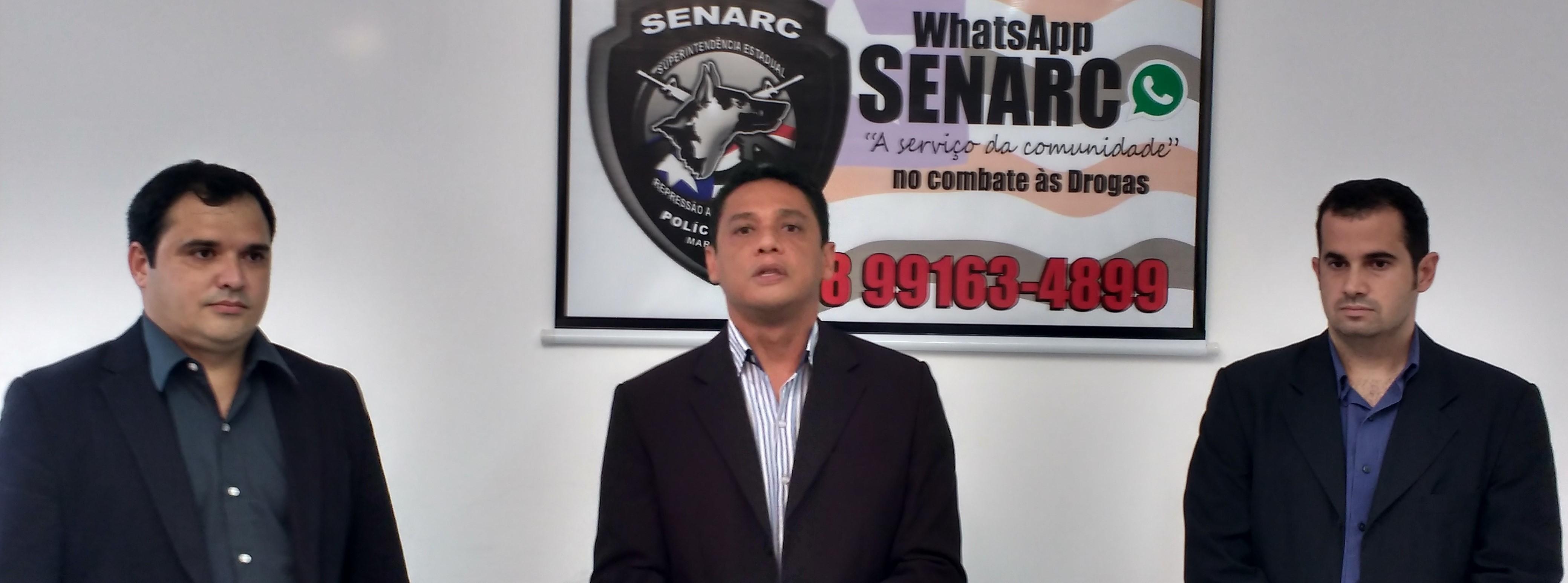 Senarc inova com WhatsApp no combate aos entorpecentes