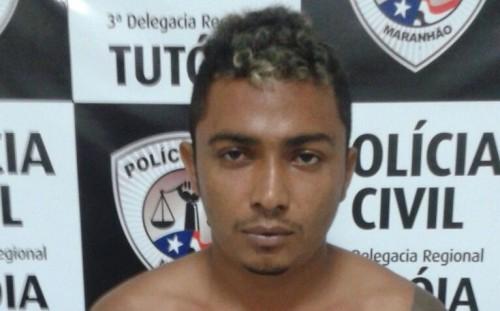 Polícia Civil do Maranhão prende foragido do estado do Piauí com quatro mandados de prisão abertos no estado do Ceará.