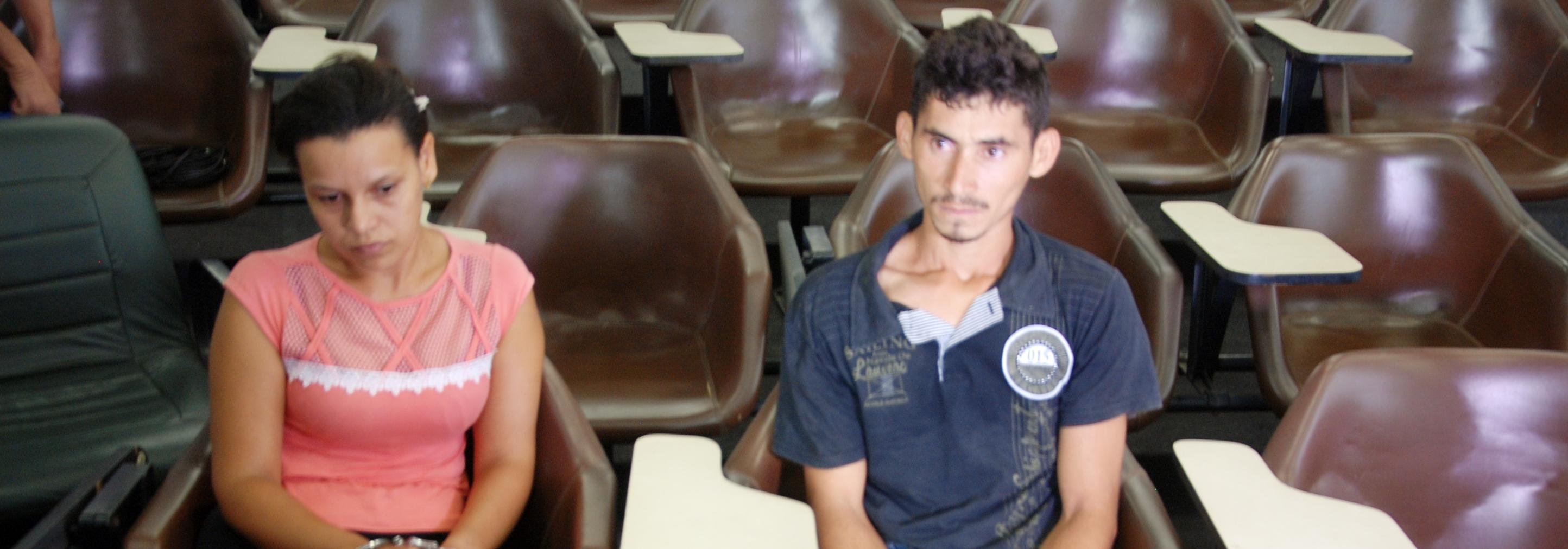 Acusados do homicídio do jornalista João Domingos França Costa são apresentados na Secretaria de Segurança