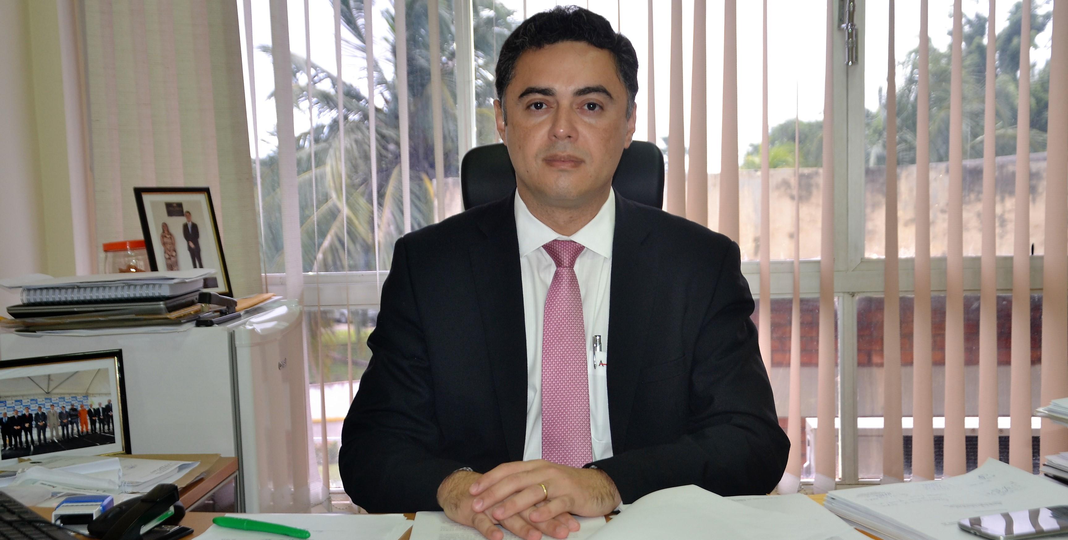 Delegado Geral Dr. Lawrece (Foto Nilson Figueiredo)