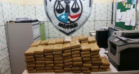Operações da Polícia Civil apreendem cargas de drogas avaliadas em mais de R$ 300 mil