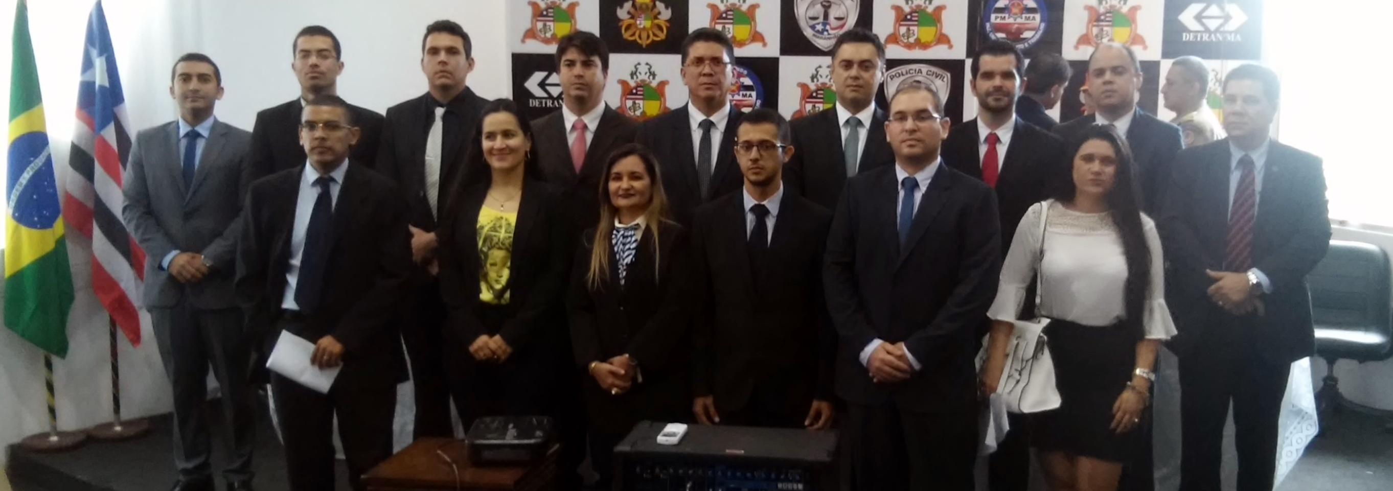 Secretário de Estado de Segurança Pública empossa novos delegados