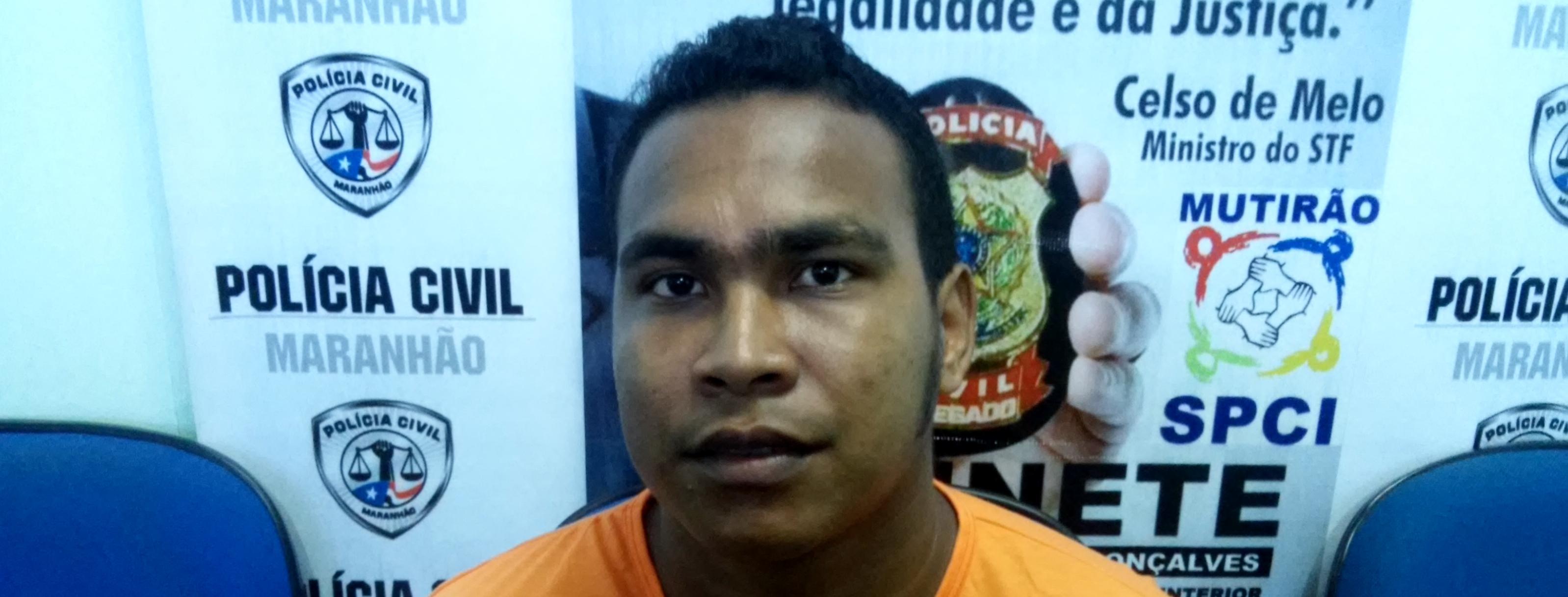 Polícia Civil apresenta homem suspeito de atirar contra crianças em Rosário