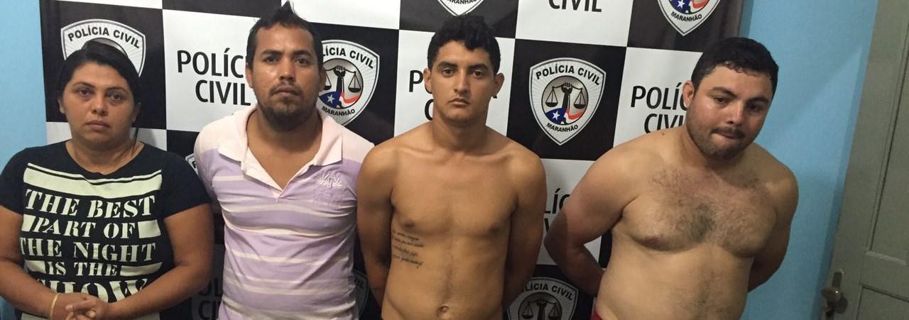 Policia Civil Cumpre 4 mandados de prisão em Olho D'água das Cunhãs
