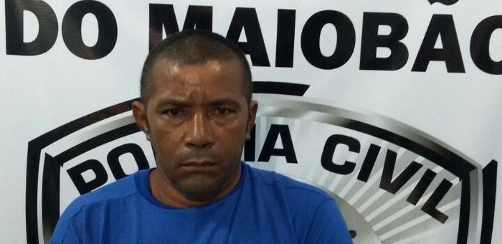 Polícia Civil do Maiobão cumpre mandado de prisão contra suspeito de estupro a vulnerável