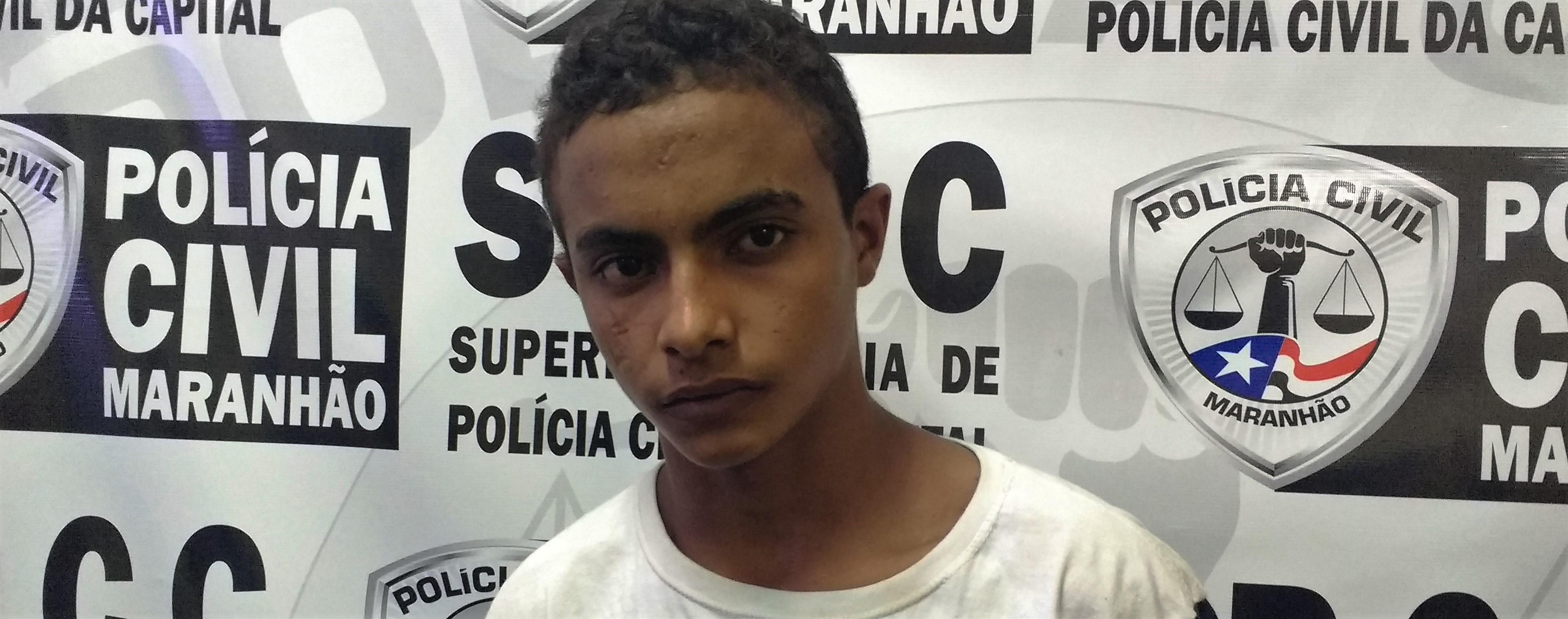 Apresentado na SPCC suspeito de latrocínio em São José de Ribamar e de envolvimento na chacina em Panaquatira