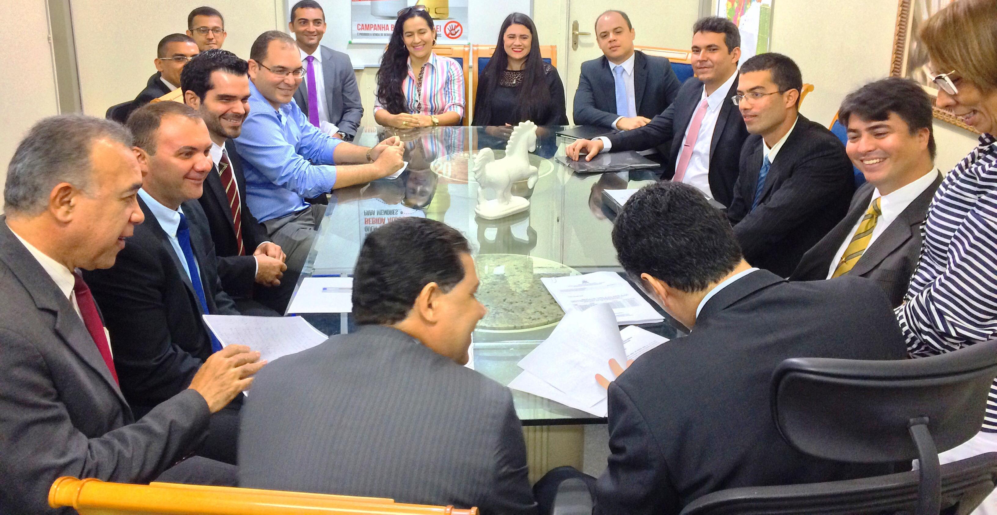 Novos delegados tomam posse na Secretaria de Segurança Pública