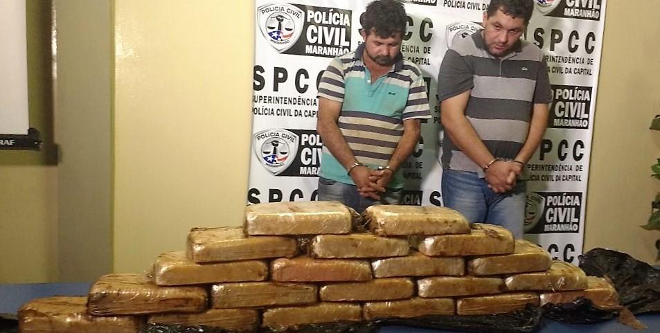 Polícia Civil prende suspeitos com entorpecentes avaliados em R$ 500 mil procedente do Mato Grosso do Sul