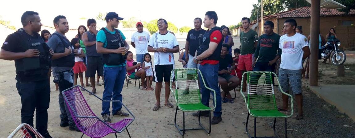 Polícia de Barra do Corda constata exploração de indígenas na reserva Cana Brava