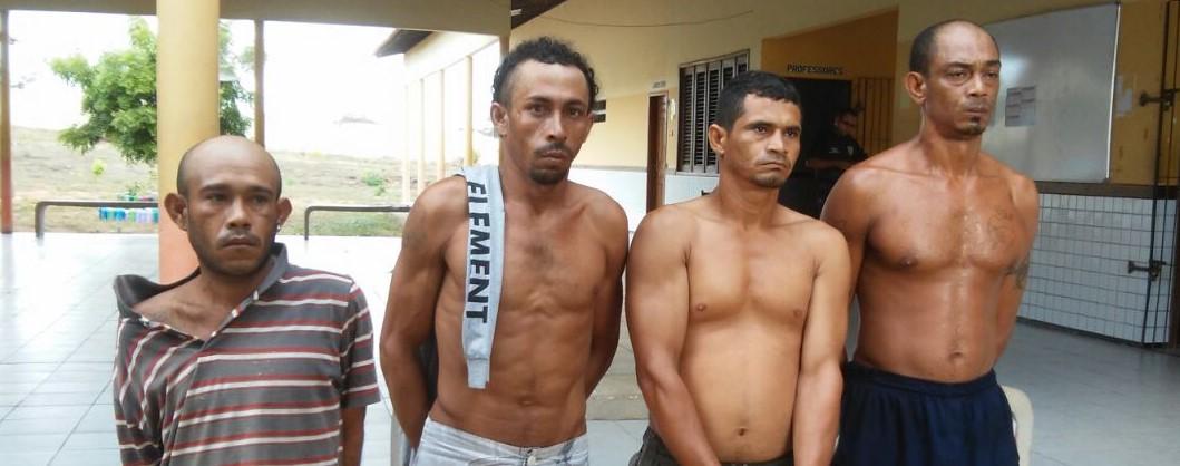 Seis pessoas são presas pela Polícia Civil na região de Chapadinha