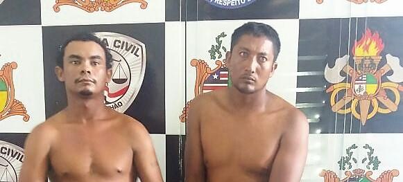 Polícia Civil apresenta suspeitos de envolvimento no caso de Pirapemas