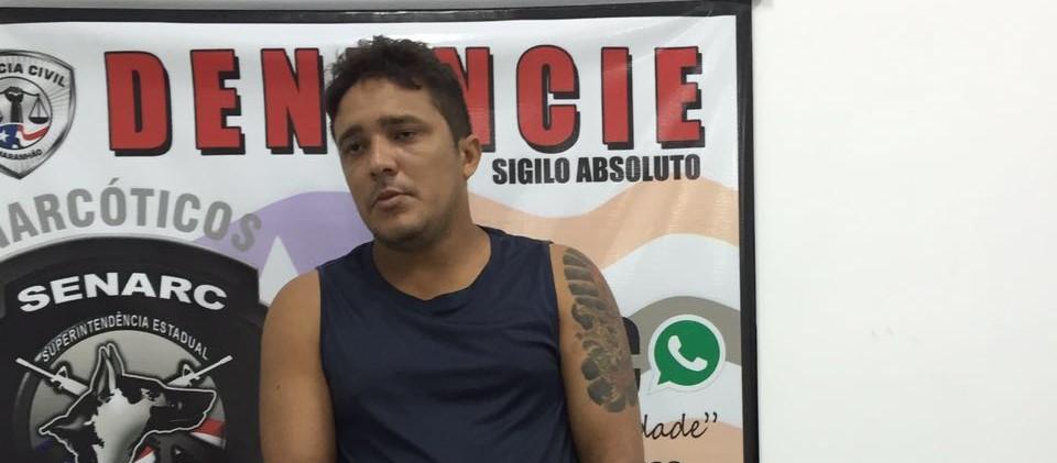 Suspeito é preso com arma e entorpecentes pela Polícia Civil no Parque Vitória
