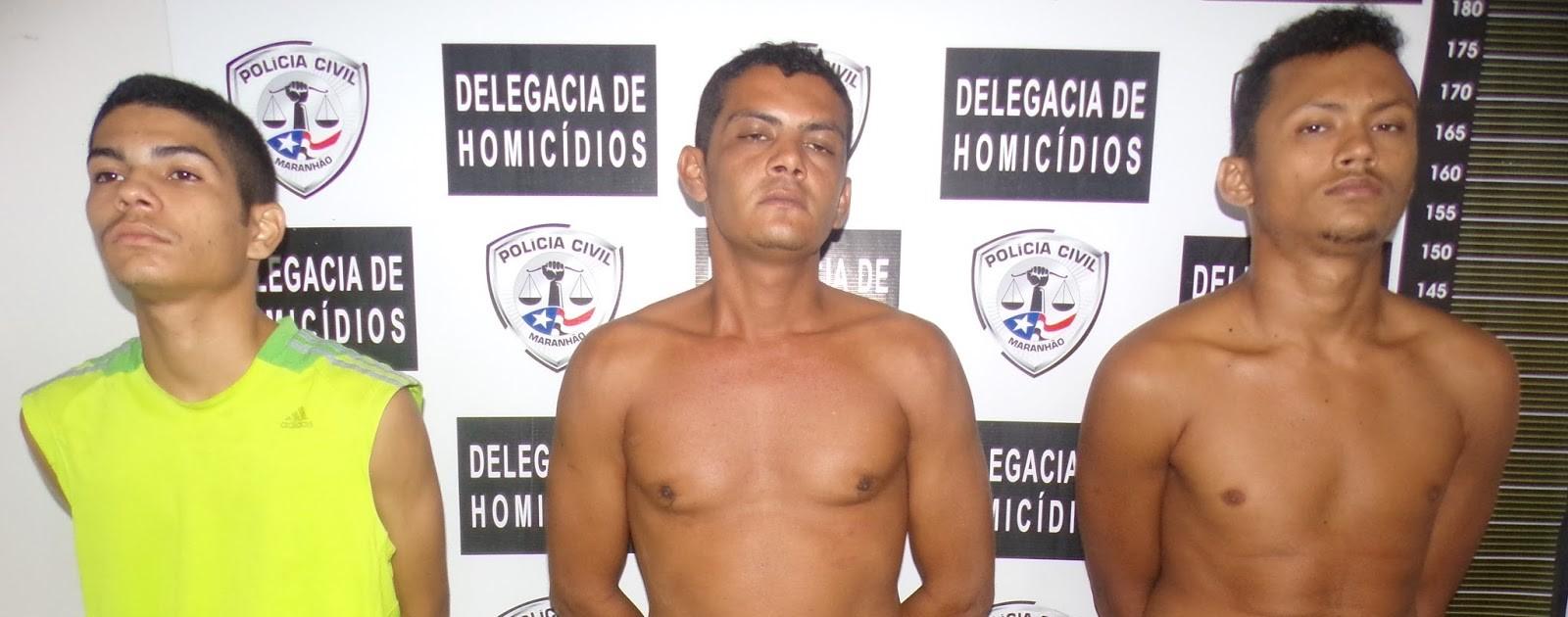 Polícia Civil do Maranhão, prende latrocidas no bairro do Santo Antônio