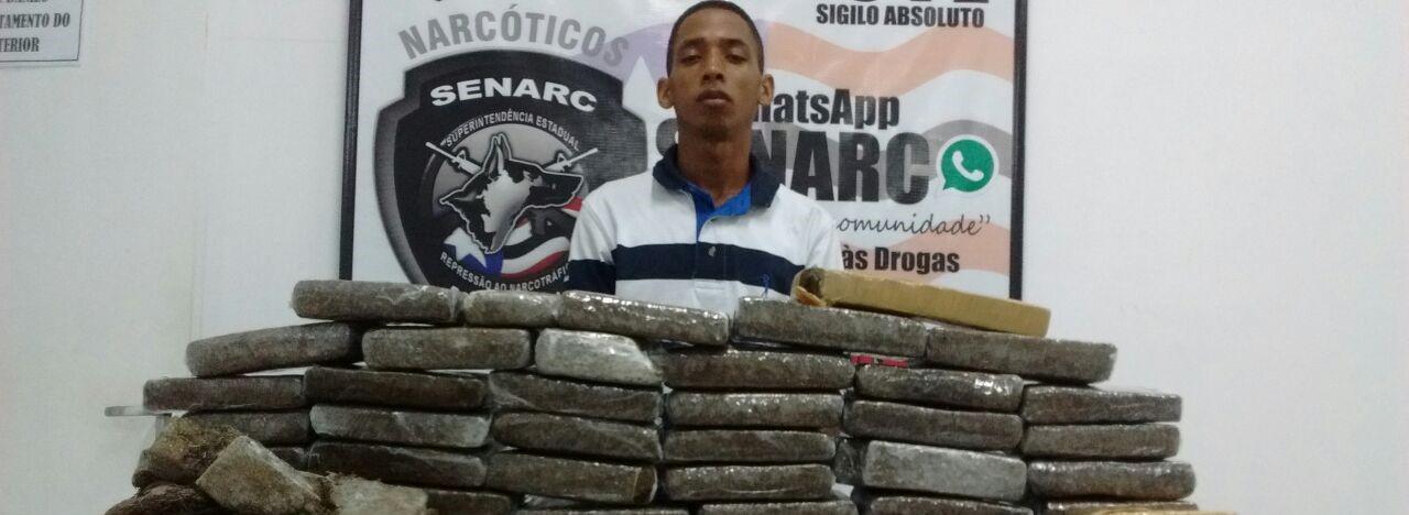 Polícia Civil apreende drogas avaliadas em R$ 250 mil