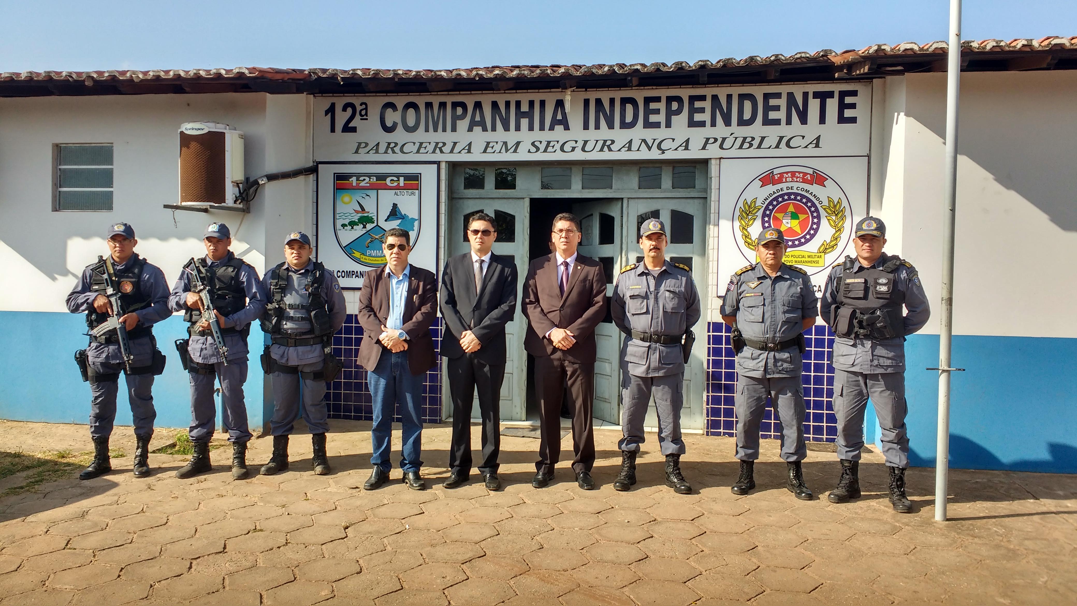Em visita a 10 municípios, cúpula da segurança garante investimento para a regional de Zé Doca