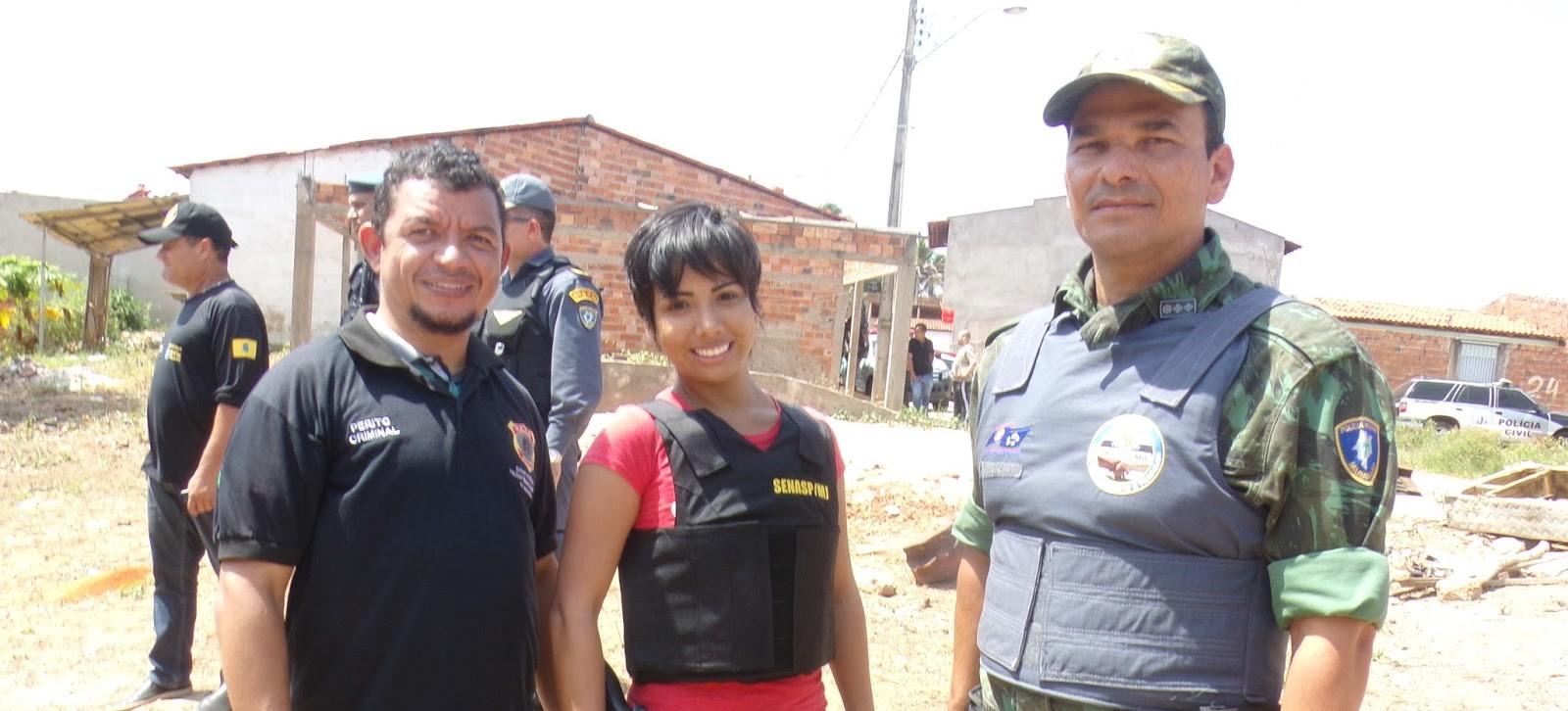 Polícia Civil e Militar em ação conjunta, retira invasores da área de preservação ambiental