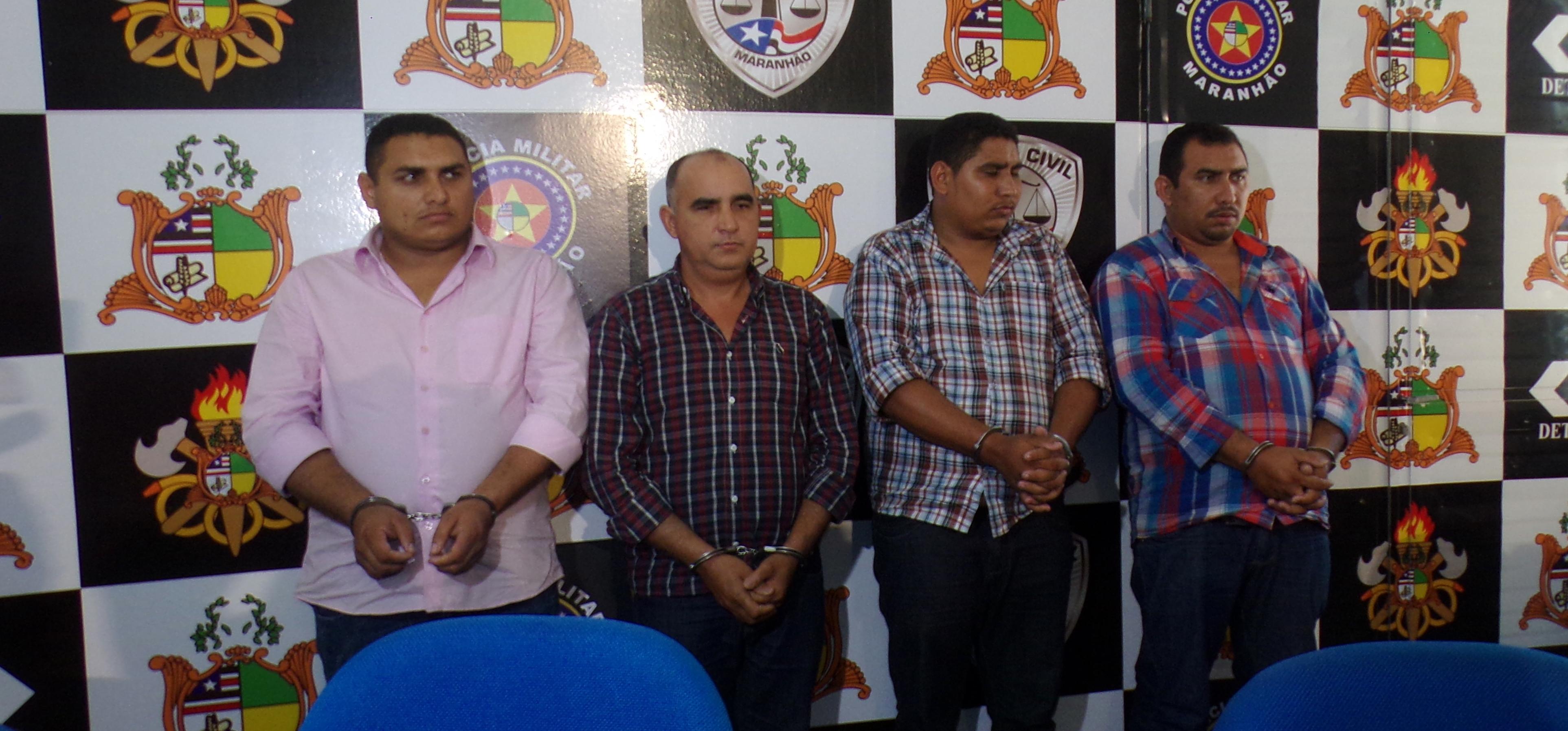 SSP apresenta grupo de envolvido em pistolagem e agiotagem no Maranhão
