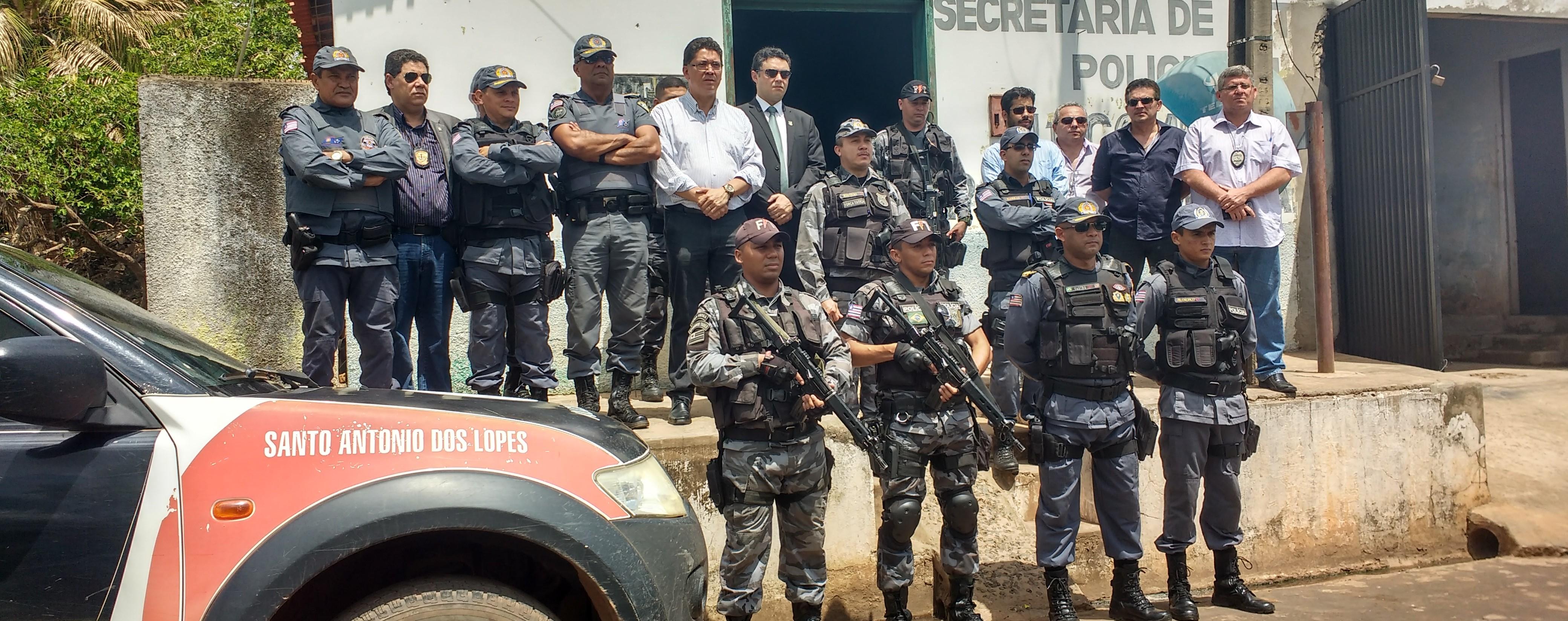 Secretário de segurança Pública percorre municípios no interior do Estado no combate à compra de votos e contra ações da violência