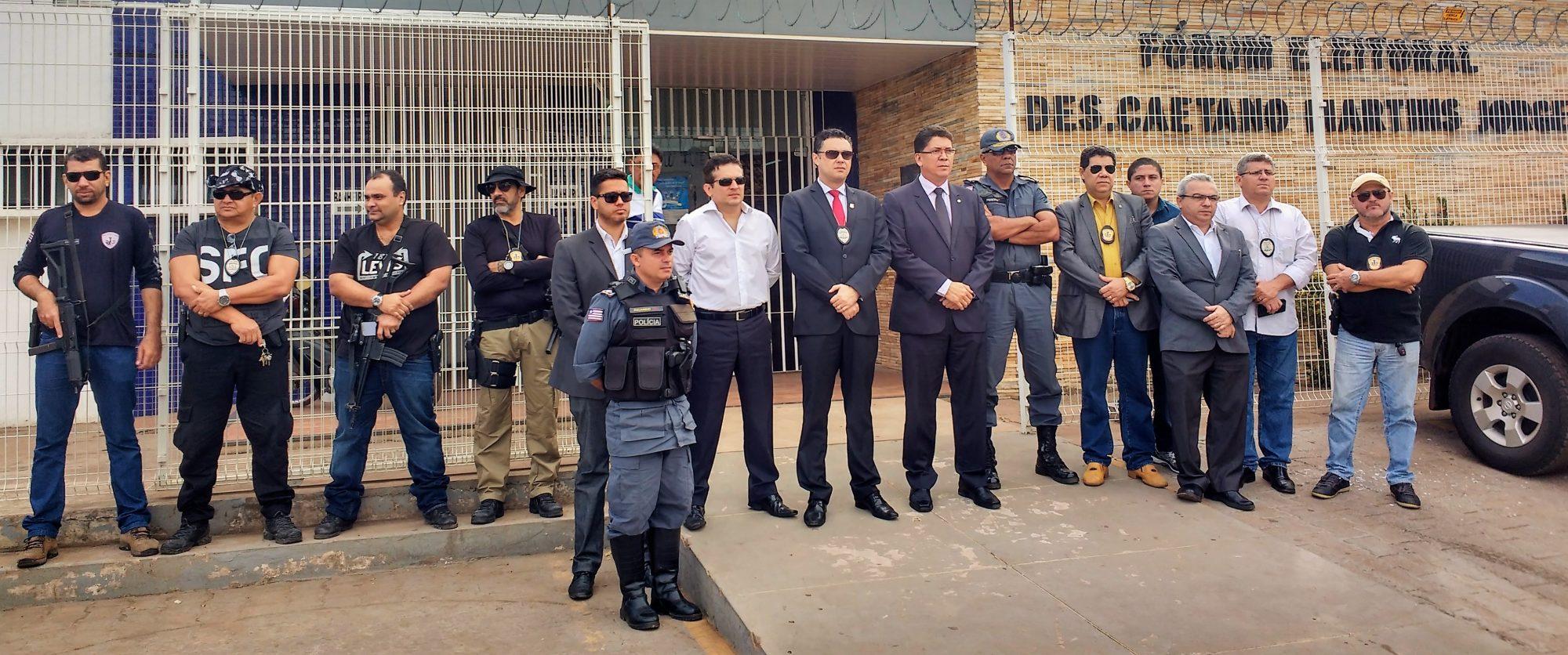 Cúpula da segurança pública realiza operações em municípios no combate à corrupção eleitoral e a coação da violência