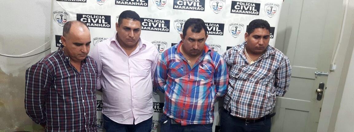 Polícia Civil do Maranhão realiza prisões e aprensões  armas de fogo em Itaipava Grajaú-MA