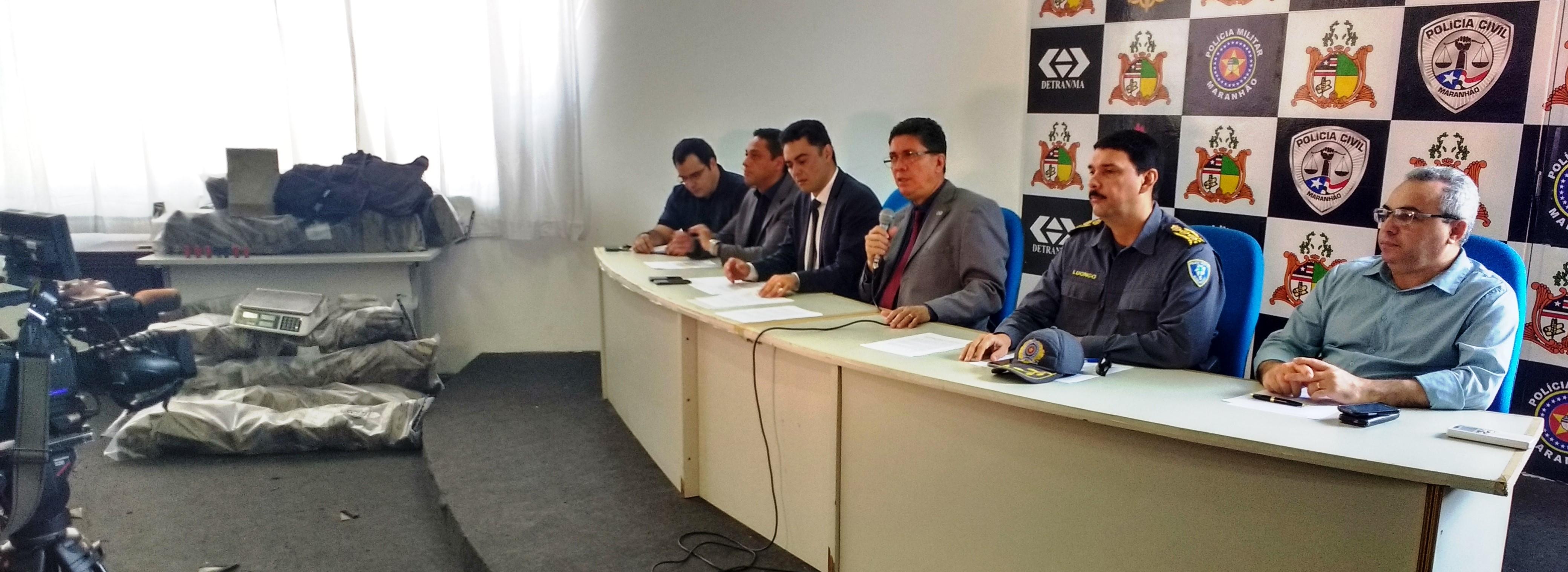 Polícia Civil apreende 127 kg de drogas em São Vicente de Ferrer