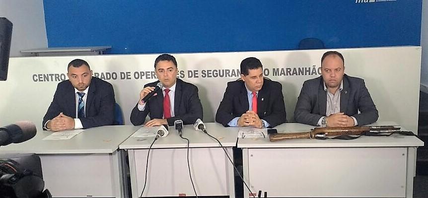 SSP apresenta suspeito de praticar homicídio contra vereador em Governador Nunes Freire