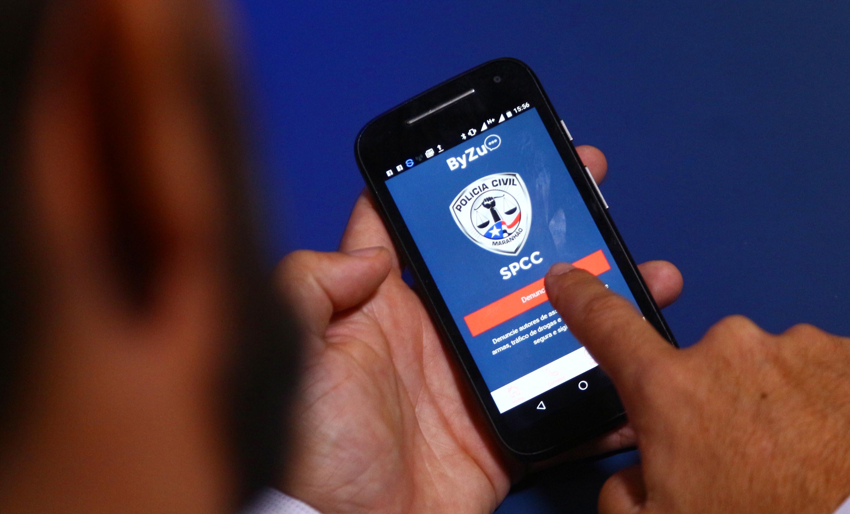 Atualização de aplicativo ByZu atualizado permite denúncias fotos e texto