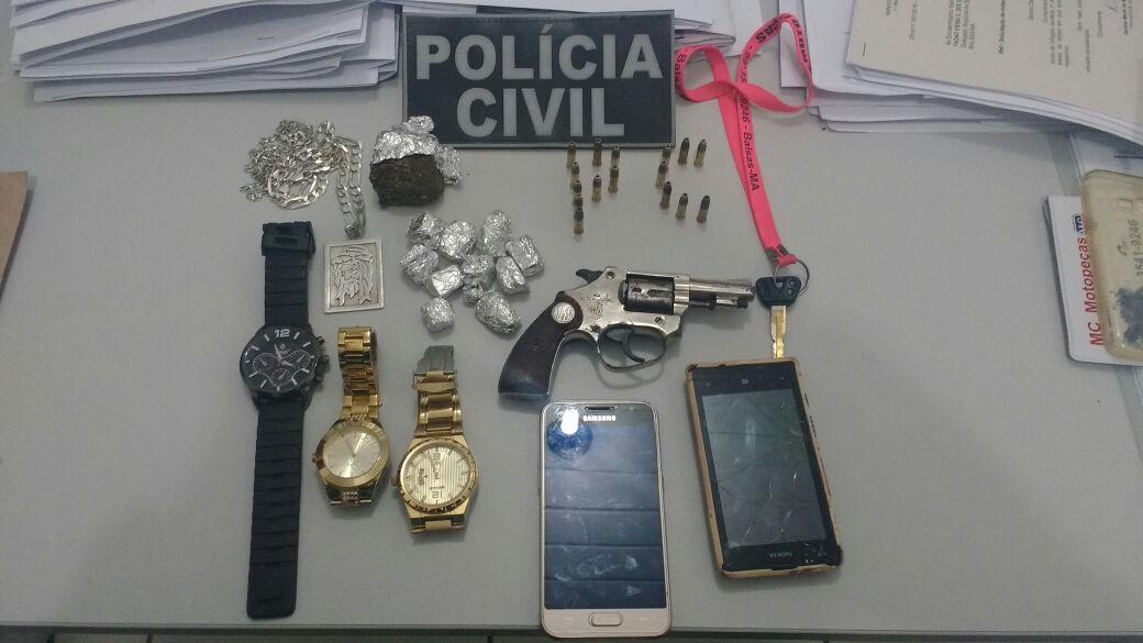 Polícia Civil cumpre mandado de prisão em Balsas