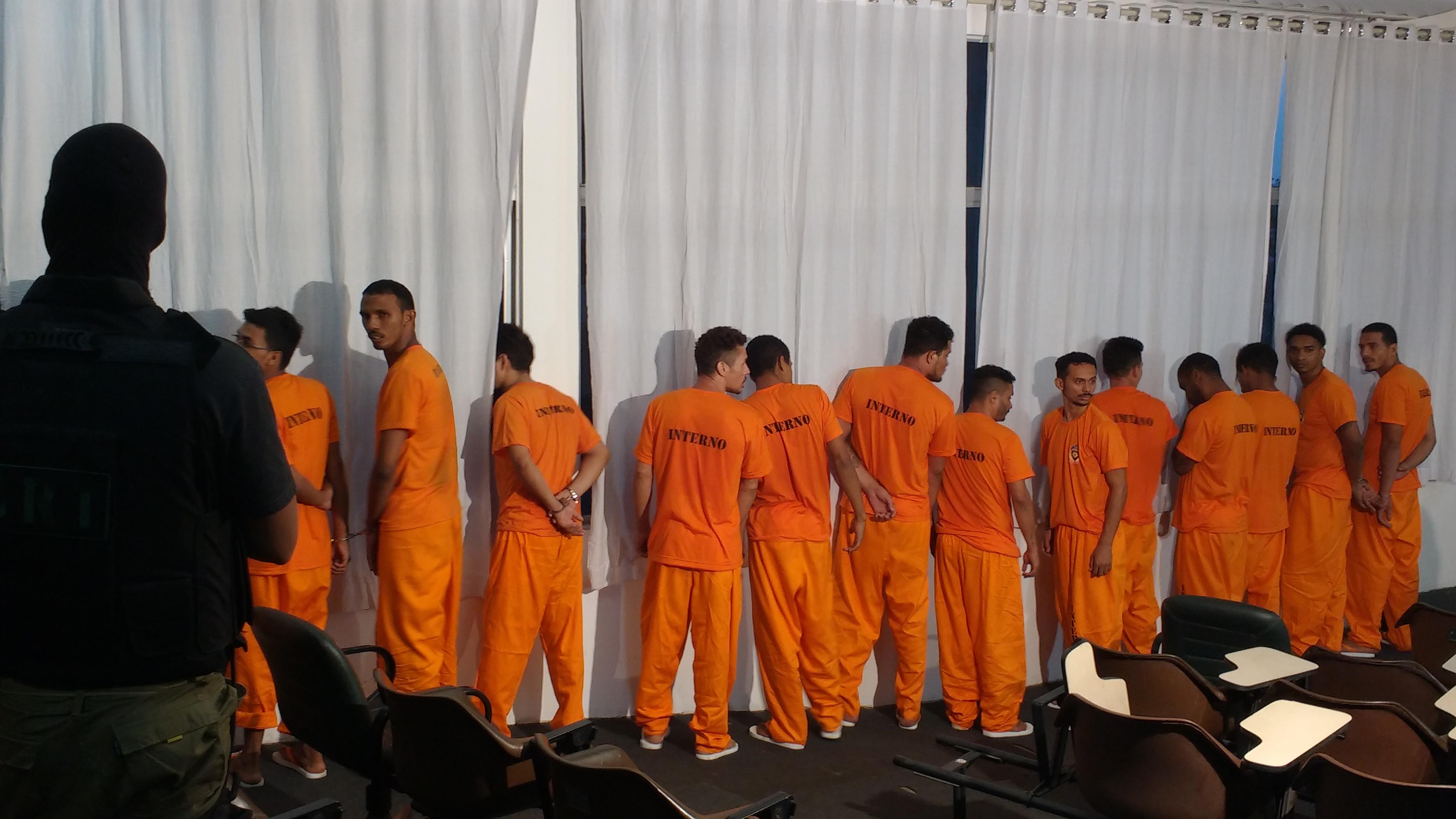 Após apresentação de internos na SSP, 23 serão transferidos para presídios federais