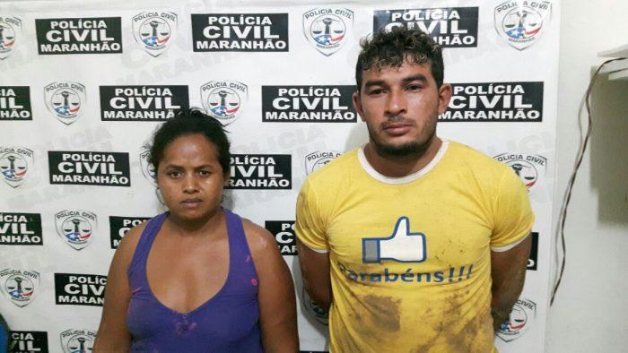 Polícia Civil prende casal suspeito pelo crime de tráfico de drogas em Barra do Corda