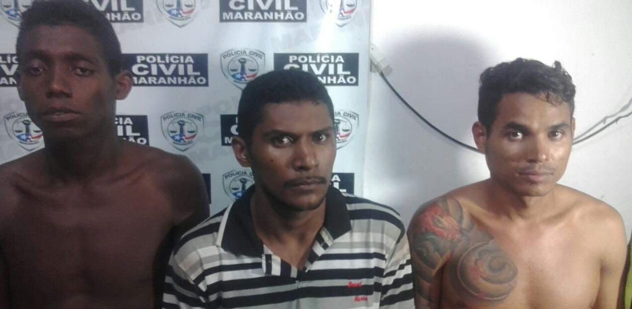 Polícia Civil prende suspeitos por roubo e homicídio em Itapecuru-Mirim