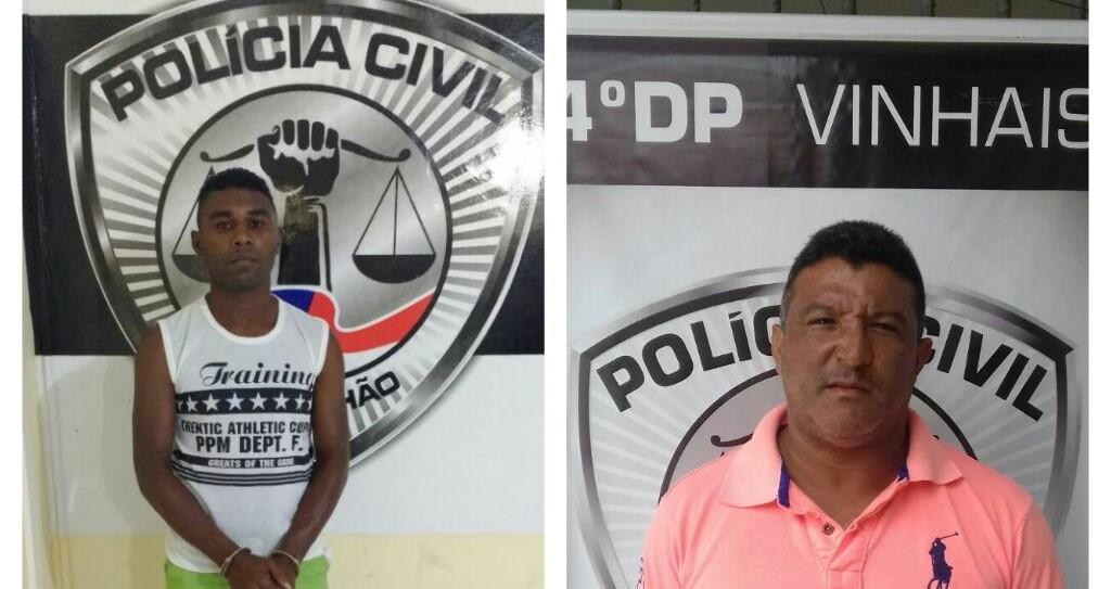 Polícia Civil prende dois homens pelos crimes de homicídio e extorsão em São Luís